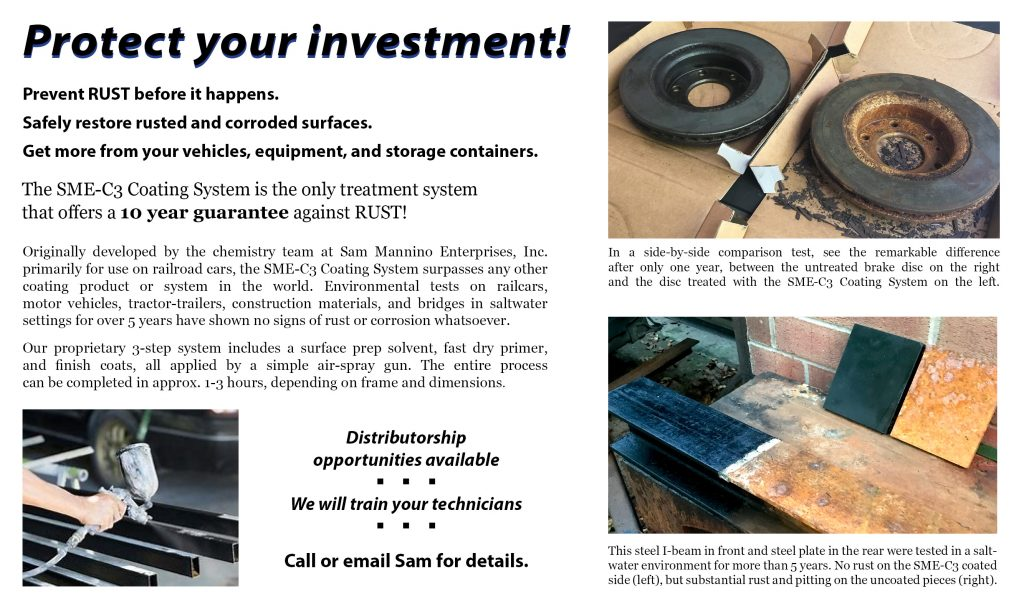 SME-C3 (rust treatment and prevention) Coating System